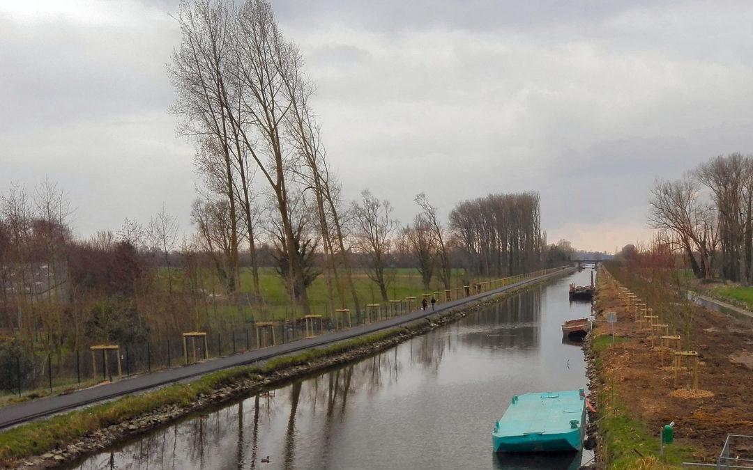 Un nouveau canal à Estaimpuis