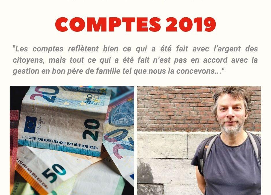 Commune Estaimpuis : Comptes 2019