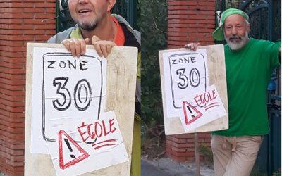 Ecolo Estaimpuis demande de réduire la vitesse à 30 km/h aux abords du CEME