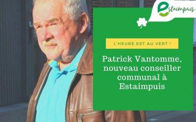 Patrick Vantomme, nouveau conseiller communal à Estaimpuis …